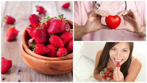 딸기의 건강상 이점 8가지