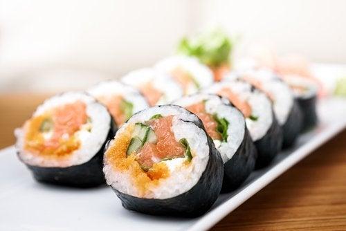 다이어트를 방해하는 초밥
