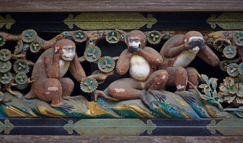"""""""세 마리 현명한 원숭이""""가 주는 흥미로운 교훈"""