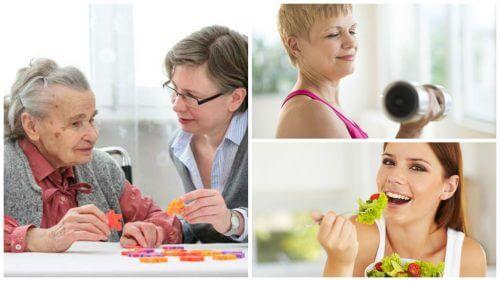 치매 위험을 감소시키는 6가지 좋은 습관