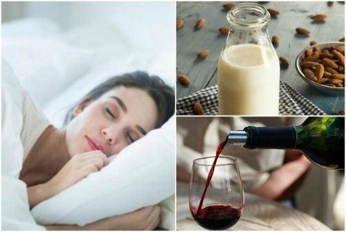 수면 장애에 도움이 되는 7가지 천연 음료