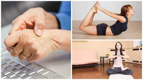 손목굴 증후군을 완화하는 5가지 요가 자세