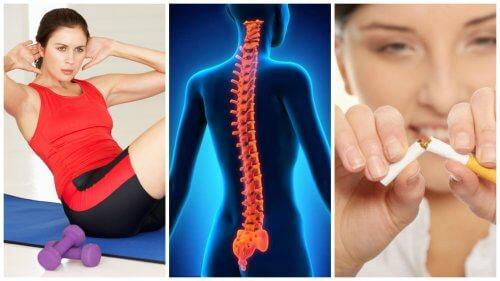 건강하고 튼튼한 척추를 위한 8가지 팁