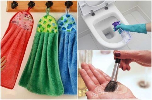 매일 청소해야 하는 9가지 집안 물품
