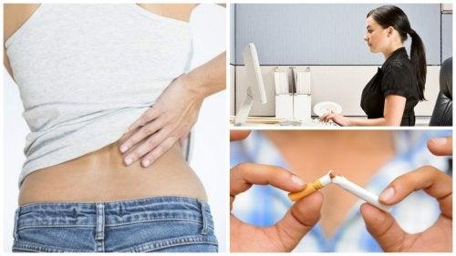 급성 요통을 완화하는 9가지 생활 습관