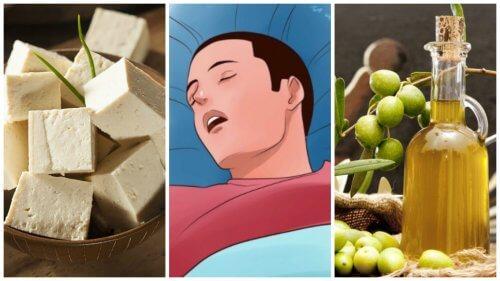 코골이를 멈추게 하기 위해 먹을 수 있는 7가지 식품