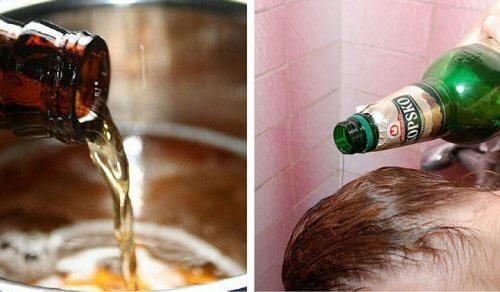 맥주를 피부와 모발에 사용하는 6가지 최고의 방법