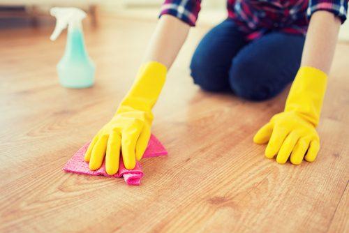 100칼로리를 집 청소하기