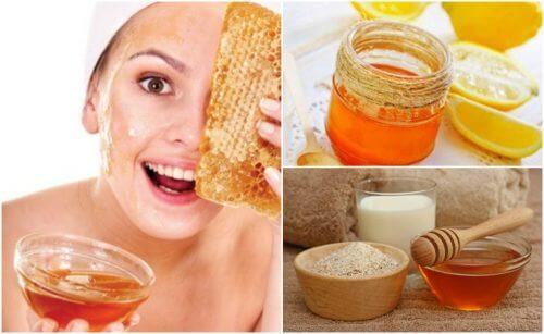 주름을 줄여주는 5가지 꿀 팩