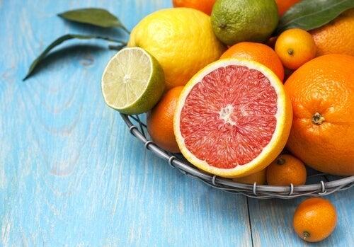 감귤류 과일 섭취의 이점 - 스트레스 감소