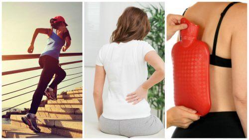 허리 아래쪽 통증을 완화하는 팁 8가지