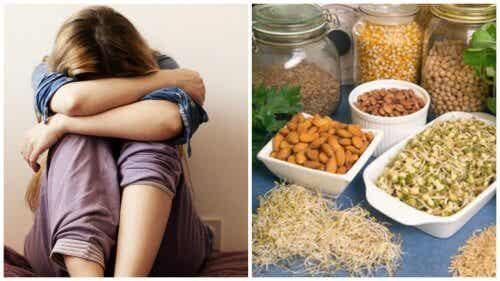 부족하면 우울증의 원인이 될 수 있는 6가지 영양소