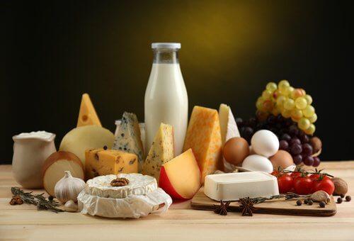 칼슘이 풍부한 식품