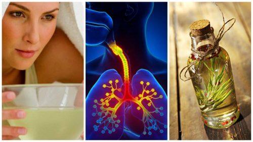 기관지염 증상을 조절해주는 6가지 홈 치료제