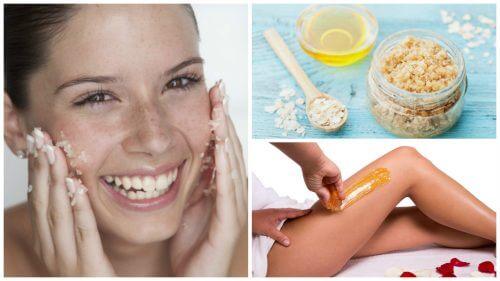 설탕으로 피부를 관리하는 5가지 방법