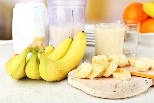 고혈압을 완화하는 자연 요법 - 1. 바나나