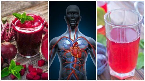 혈액순환을 개선하는 5가지 천연 음료