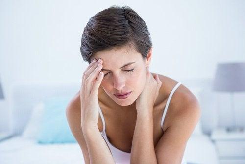 시각적 스트레스를 편두통