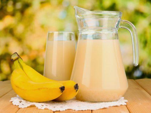 바나나 껍질 음료