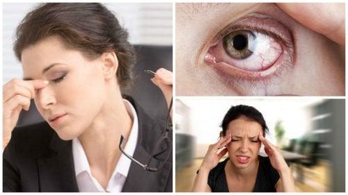 8가지 증상으로 시각적 스트레스를 파악하자