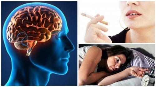 뇌 건강에 영향을 미치는 나쁜 습관 6가지