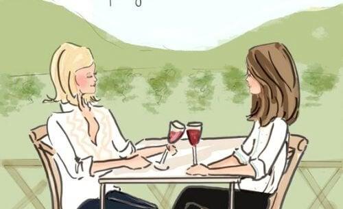 여성들의 우정 - 스트레스를 푸는 방법