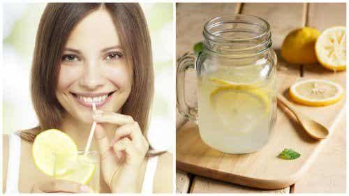 따뜻한 레몬 물의 9가지 효능