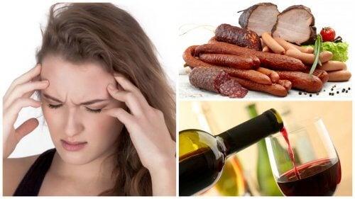 편두통을 일으키는 9가지 음식