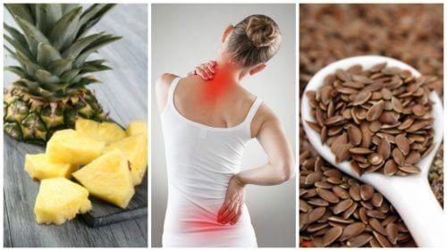 통증과 염증을 없애는 식탁 위 건강 식품