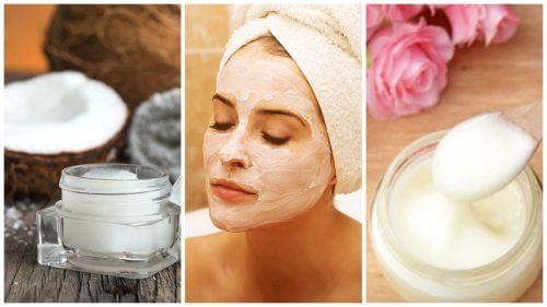 피부 불순물을 제거하는 5가지 천연 팩