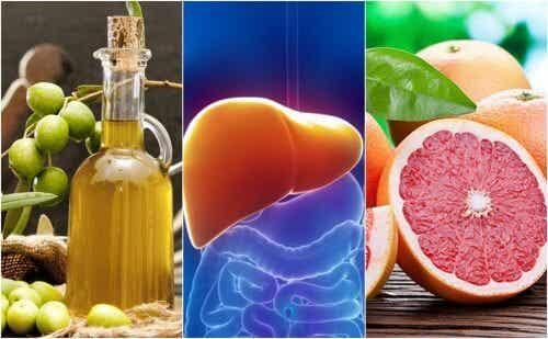 간에 좋은 8가지 식품