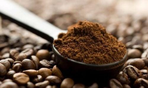 조기 흰머리를 없애는 커피가루