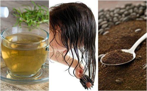 조기 흰머리를 없애는 자연 요법 5가지