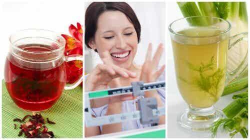 체중 감량에 도움이 되는 천연 차 5가지