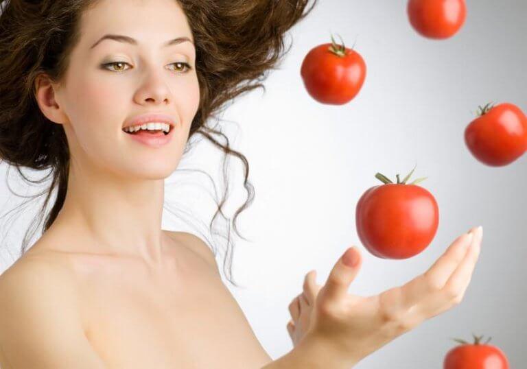 토마토와 피부