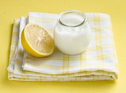 요구르트 레몬