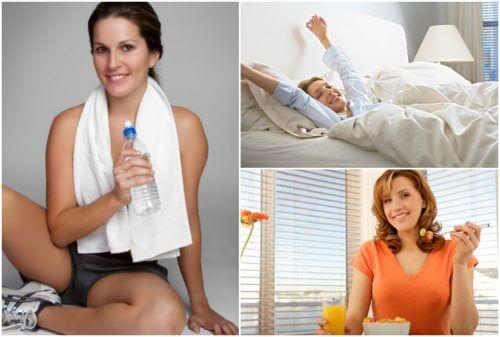 활력 충전을 위해 매일 할 수 있는 5가지