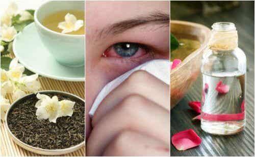 눈병을 치료하는 5가지 천연 요법