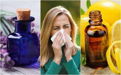 알레르기 증상을 조절하는 6가지 에센셜 오일