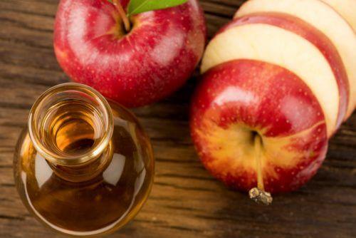 사과식초 물 마시기