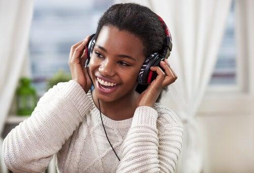 음악 듣기