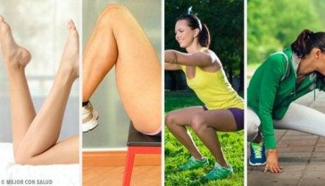 편하게 집에서 다리운동 하는 방법