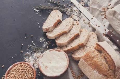 집중력 개선에 통밀빵