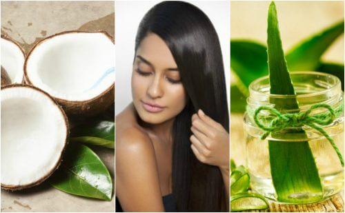 머리카락을 튼튼하게 하는 5가지 천연 헤어팩
