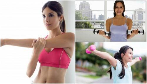 예쁜 가슴을 만들어주는 5가지 운동