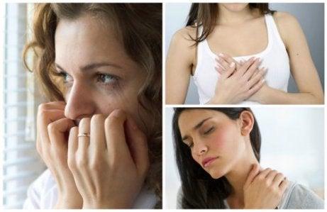 불안 장애의 신체적 징후 10가지