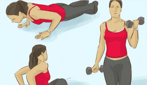 팔 근육을 강화하는 3가지 운동