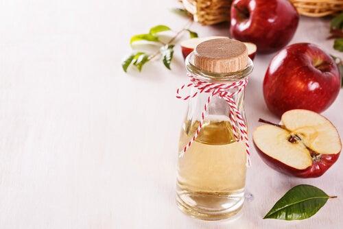 5. 사과 식초와 물
