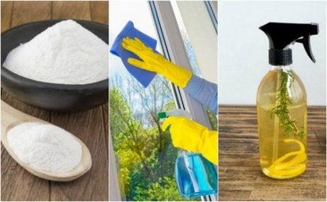 친환경 홈메이드 유리 세정제 5가지