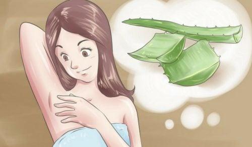 겨드랑이 냄새를 없애는 5가지 천연 데오도란트